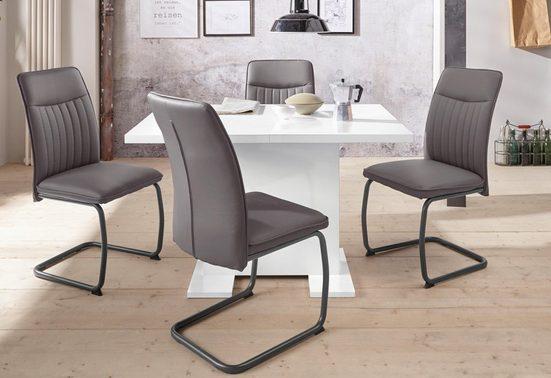 HELA Essgruppe »RUBINA I G«, (Set, 5-tlg), bestehend aus einem Tisch und 4 Stühlen