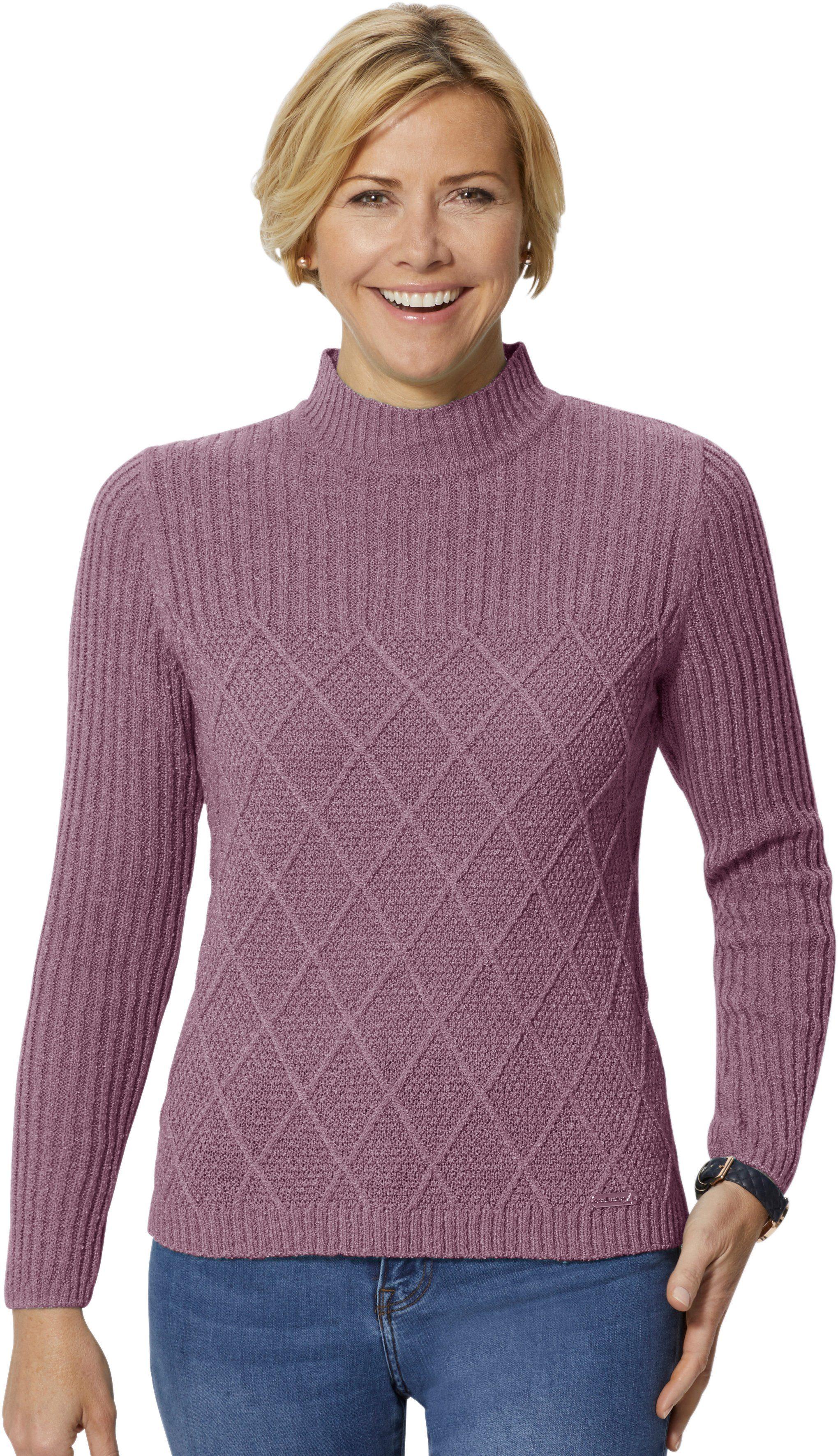 Strickmuster Im Online Casual Rautendessin Apartem Looks Mit Kaufen Pullover O8wPNnXZ0k
