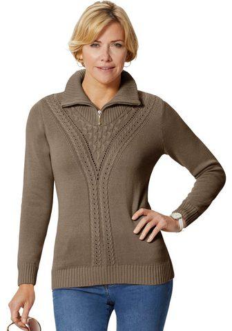 CASUAL LOOKS Megztinis su streckendem Ajour- ir dyg...