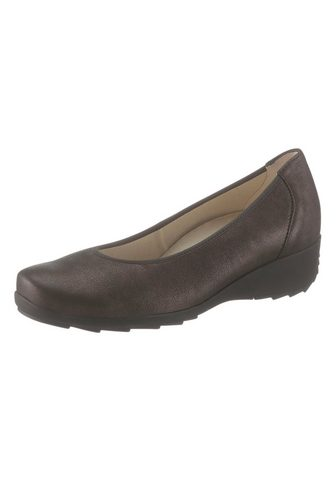 Туфли на удобной подошве балетки с Wec...