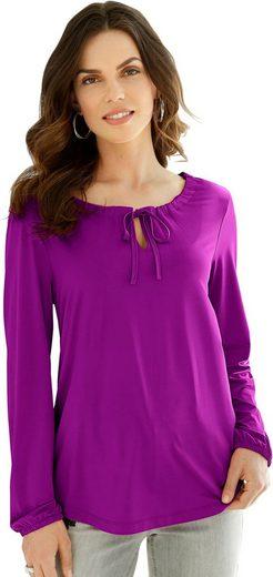 Lady Shirt in fein schimmernder Qualität