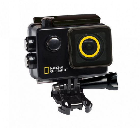 NATIONAL GEOGRAPHIC Action cam »4K Ultra-HD WLAN Action Camera Explorer 3«