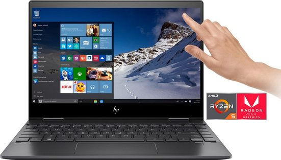 HP ENVY x360 13-ar0205ng Convertible Notebook (33,8 cm/13,3 Zoll, AMD Ryzen 5, 512 GB SSD)