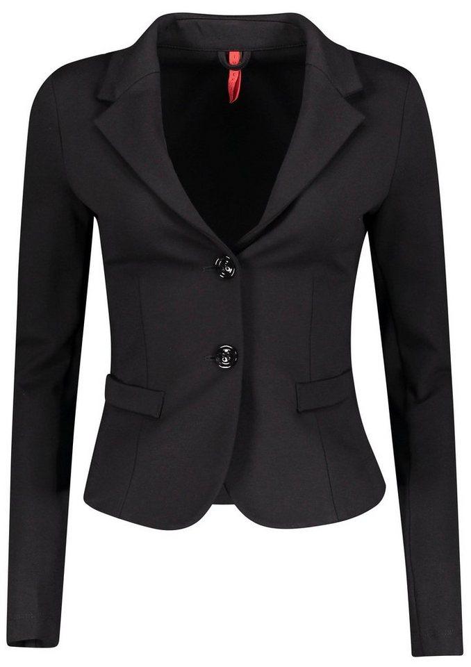 IMP by IMPERIAL Sweatblazer »IMP-JS24« im Business-Look | Bekleidung > Blazer > Sweatblazer | Schwarz | IMP by IMPERIAL