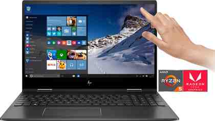 HP ENVY x360 15-ds0205ng Convertible Notebook (39,6 cm/15,6 Zoll, AMD Ryzen 5, 512 GB SSD)