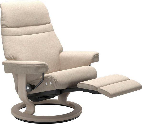 Stressless® Relaxsessel »Sunrise«, mit Classic Base & LegComfort™, Größe M, Gestell Whitewash
