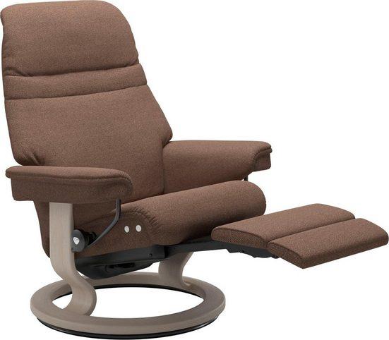 Stressless® Relaxsessel »Sunrise«, mit Classic Base & LegComfort™, Größe L, Gestell Whitewash