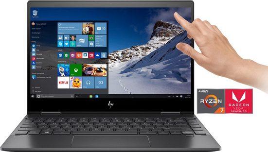HP ENVY x360 13-ar0210ng Convertible Notebook (33,8 cm/13,3 Zoll, AMD Ryzen 7, Radeon RX, 512 GB SSD)