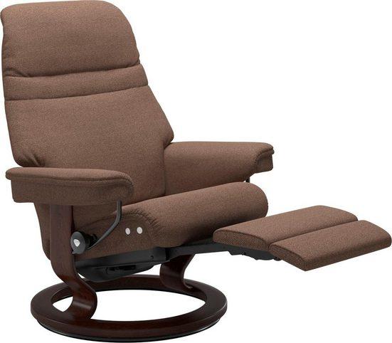 Stressless® Relaxsessel »Sunrise«, mit Classic Base & LegComfort™, Größe L, Gestell Braun