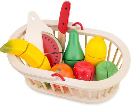 New Classic Toys® Spiellebensmittel »Schneideset Obst«, (10-tlg)