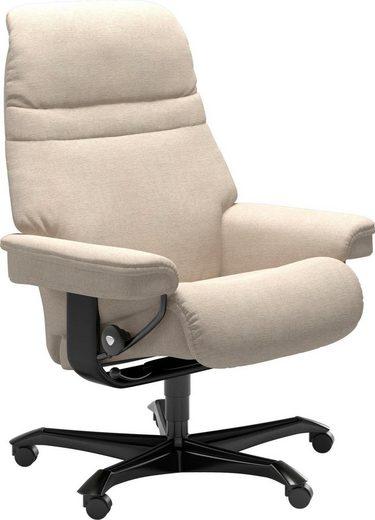 Stressless® Relaxsessel »Sunrise«, mit Home Office Base, Größe M, Gestell Schwarz