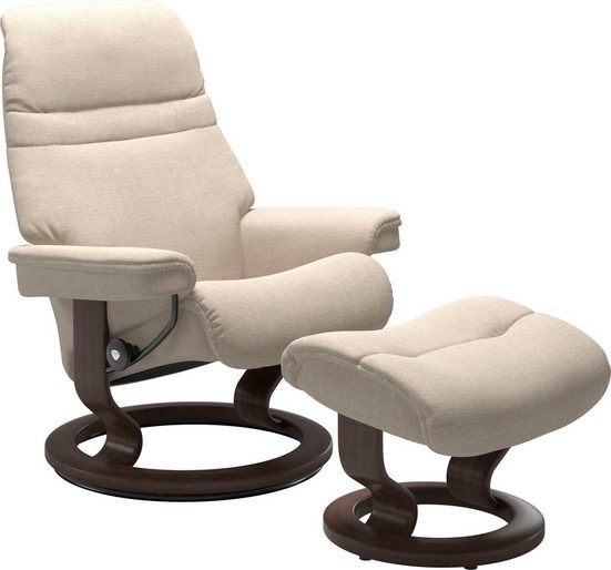 Stressless® Relaxsessel »Sunrise«, mit Classic Base, Größe L, Gestell Wenge