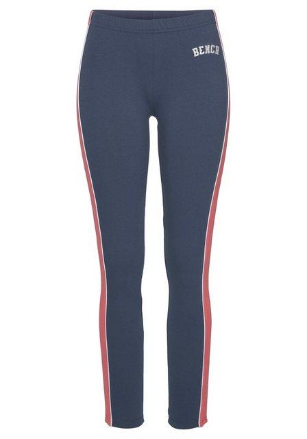 Hosen - Bench. Leggings »Tricolore« mit Seitenstreifen und Logostickerei ›  - Onlineshop OTTO