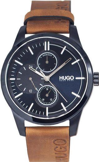 HUGO Multifunktionsuhr »DISCOVER, 1530083«