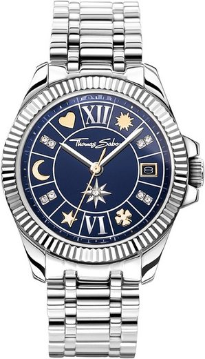 THOMAS SABO Quarzuhr »WA0354-201-209-33 mm«