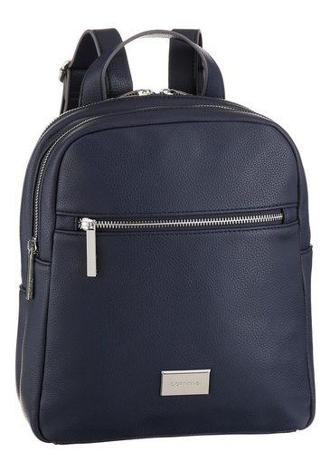 Comma Cityrucksack »pure elegance backpack mvz«, im eleganten Design