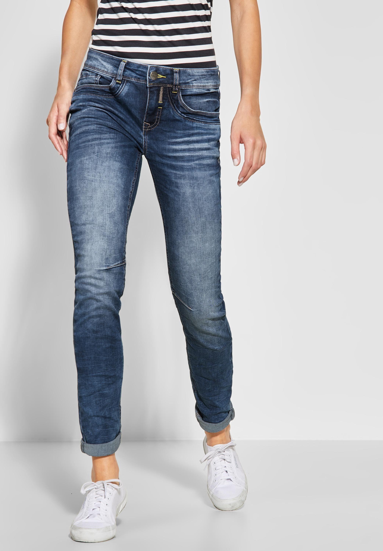 STREET ONE Comfort fit Jeans mit leichten Crinkles, Casual Fit Denim online kaufen | OTTO