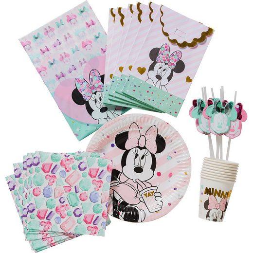 Procos Partyset Premium Minnie Party Gem, 50-tlg.