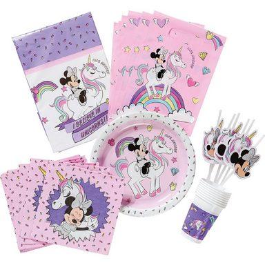 Procos Partyset Premium Minnie Unicorn, 50-tlg.