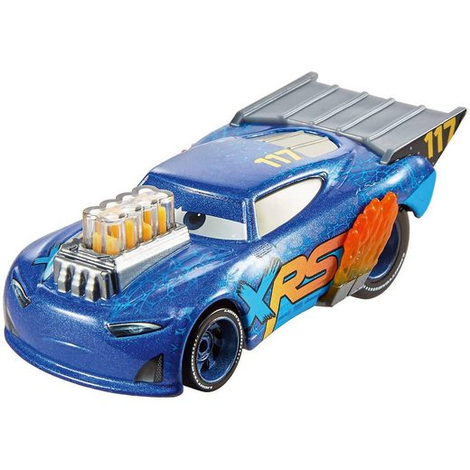 Mattel® Disney Cars Xtreme Racing Serie Dragster-Rennen Die-Cast Lit