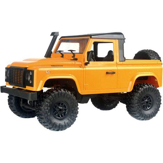 Amewi RC Pick-Up Crawler 4WD 1:16 RTR gelb