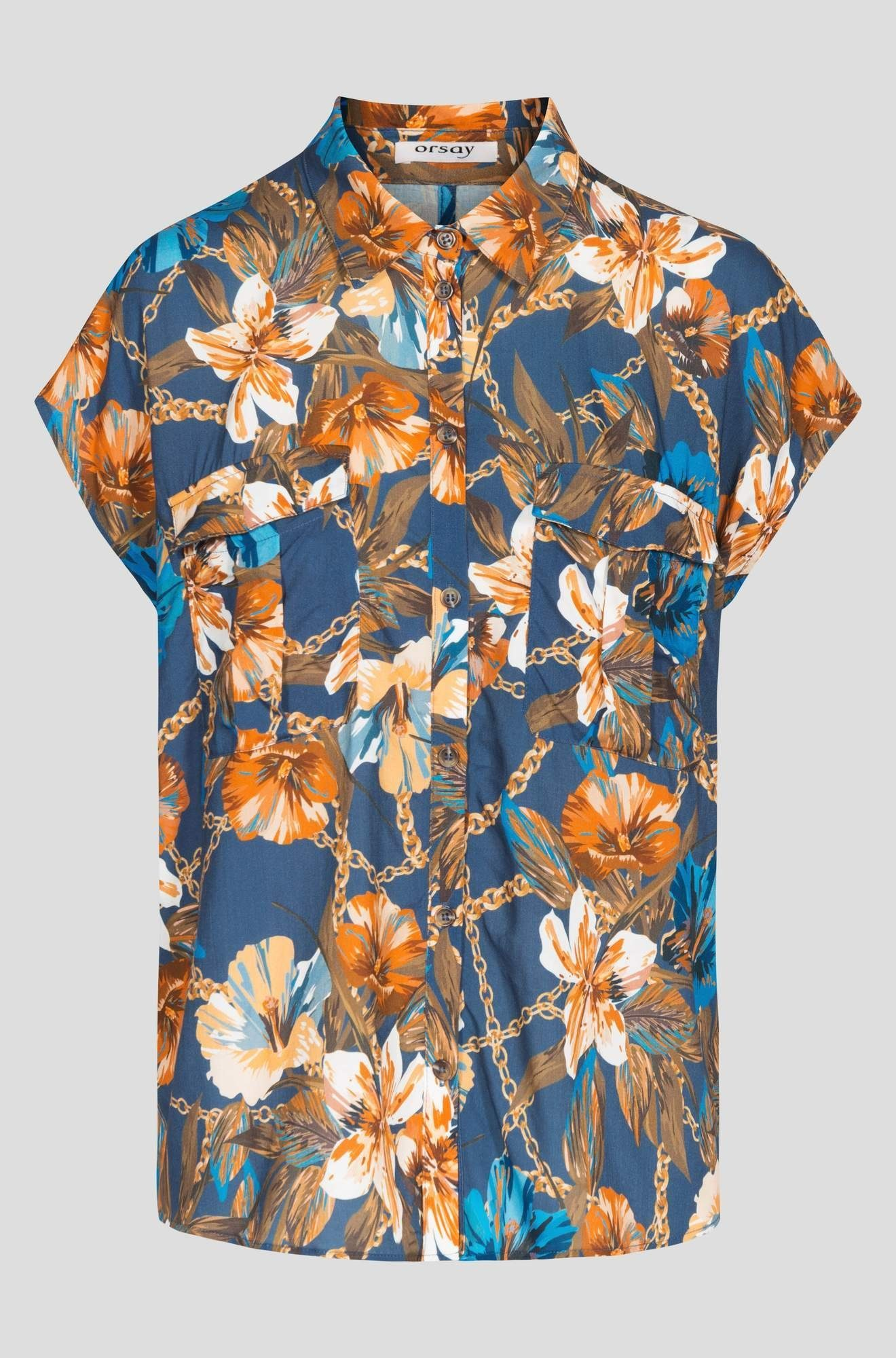 Orsay Lockerer Online Hemdbluse Kaufen In Passform 80wPknO