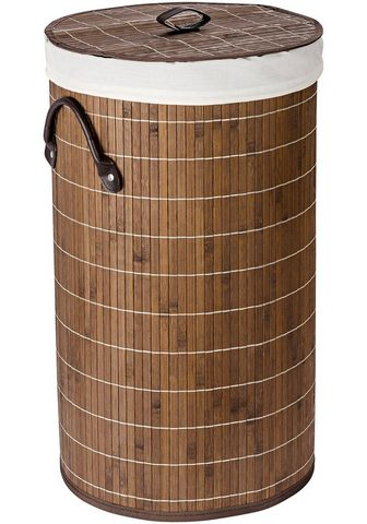 WENKO Krepšys skalbiniams »Bamboo 55l«