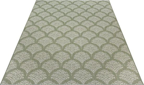 Teppich »Maren«, Home affaire, rechteckig, Höhe 3 mm, Wohnzimmer, In- und Outdoor geeignet