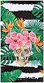 done.® Strandtuch mit Tasche, »Summer Skull«, Bild 1