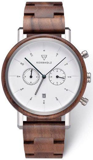 KERBHOLZ Chronograph »Johann Walnut«
