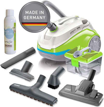 Thomas Wasserfiltersauger mit Wasserfilter perfect air feel fresh x3, 1700 Watt, beutellos, grün/grau