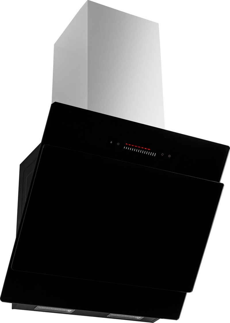 Amica Kopffreihaube KHF 664 100 S, LED-Beleuchtung