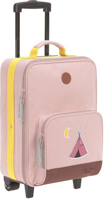 Lässig Kinderkoffer »Trolley Adventure Tipi«, 2 Rollen   Taschen > Koffer & Trolleys > Trolleys   Polyester   Lässig