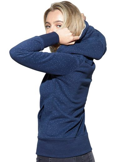 MAZINE Kapuzensweatshirt »WINTON« im Pünktchen-Design