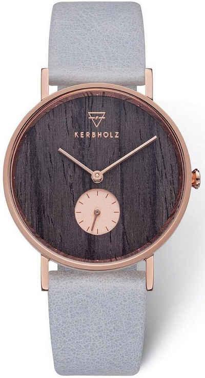KERBHOLZ Quarzuhr »Frida Darkwood / Arctic, WATMFRI0135«, mit kleiner Sekunde