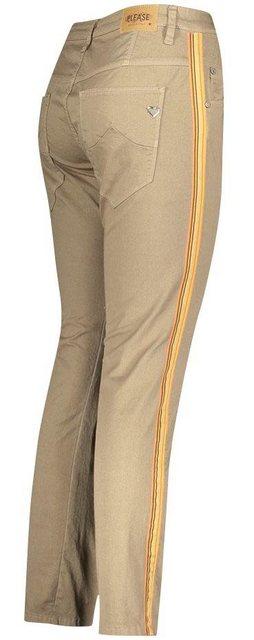Please Jeans Röhrenhose »P85B« mit seitlichen Gallonstreifen | Bekleidung > Hosen > Röhrenhosen | Please Jeans