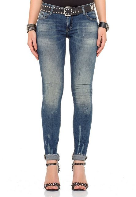 Hosen - Cipo Baxx Bequeme Jeans im Regular Fit Schnitt › schwarz  - Onlineshop OTTO