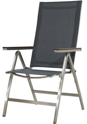 Ploß Ploß sodo kėdė »Hudson« Edelstahl/Text...