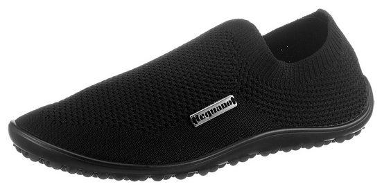 Leguano »Barfußschuh SCIO« Slip-On Sneaker mit seitlichem Logo-Emblem