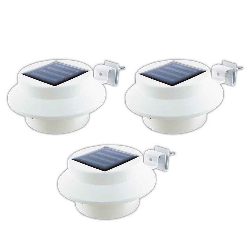 EASYmaxx LED Dachrinnenleuchte, 3er Set
