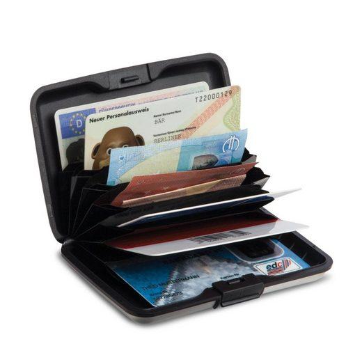 fabrizio® Etui »Sicherheits-Geldkartenetui schwarz«