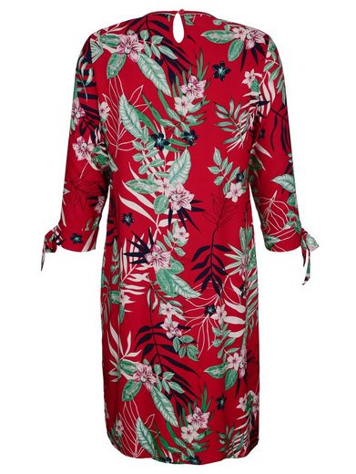 Dress In Kleid mit tropischem Print