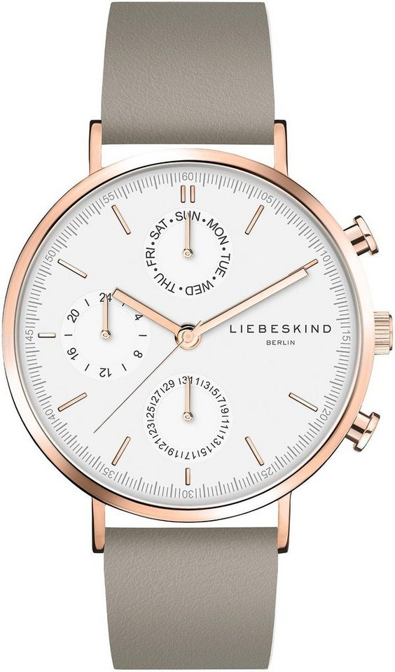 Liebeskind Berlin Multifunktionsuhr »LT-0196-LM« | Uhren > Multifunktionsuhren | Grau | Liebeskind Berlin