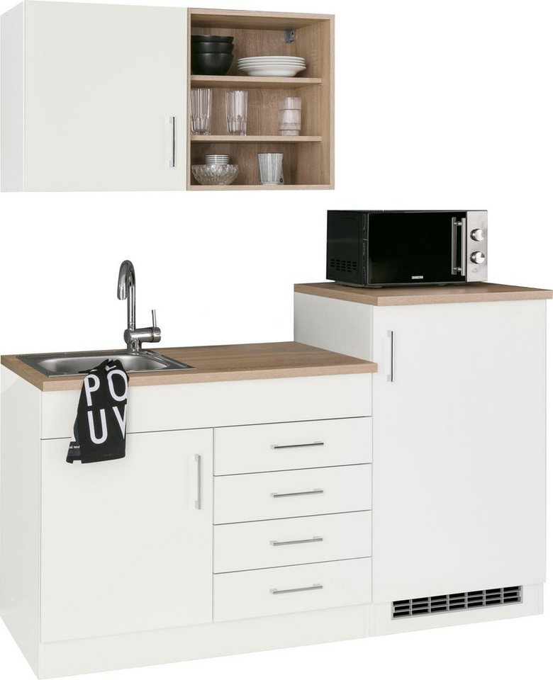 HELD MÖBEL Küchenzeile »Mali«, mit E-Geräten, Breite 160 cm online kaufen    OTTO
