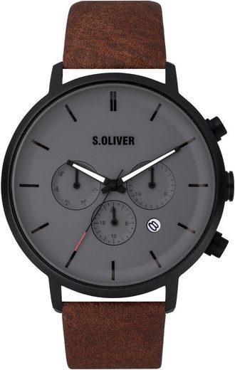 s.Oliver Multifunktionsuhr »SO-3869-LM«