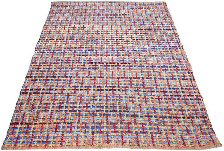 Teppich »Anna«, INOSIGN, rechteckig, Höhe 14 mm, in Flecht-Design