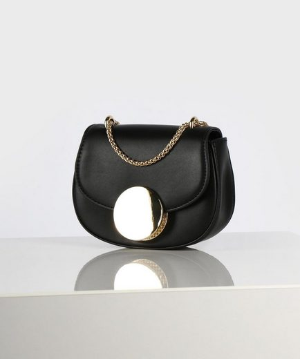 Seidenfelt Mini Bag »MORS«, mit schöner Umhängekette