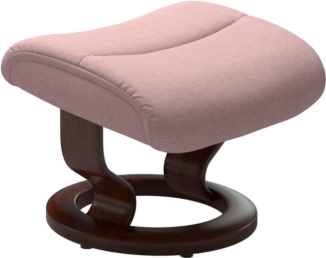 Stressless® Fußhocker »View«, mit Classic Base,Gestell Braun online kaufen | OTTO