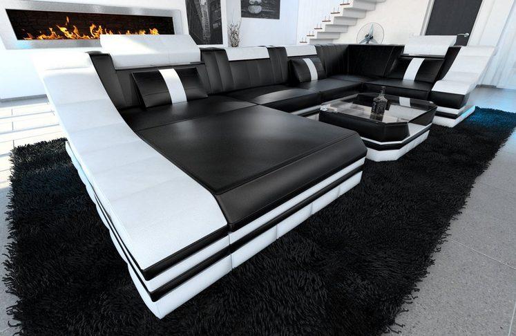 Sofa Dreams Wohnlandschaft »Turino«, U Form