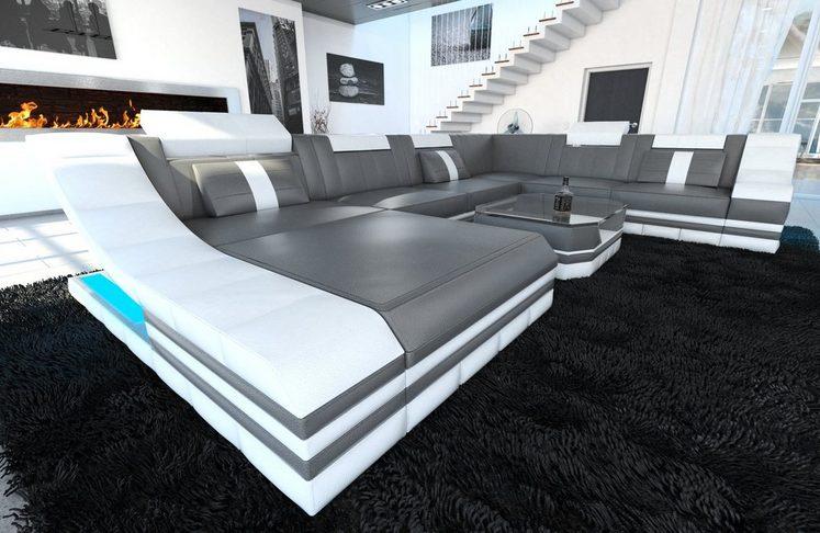 Sofa Dreams Wohnlandschaft »Turino«, U Form XXL